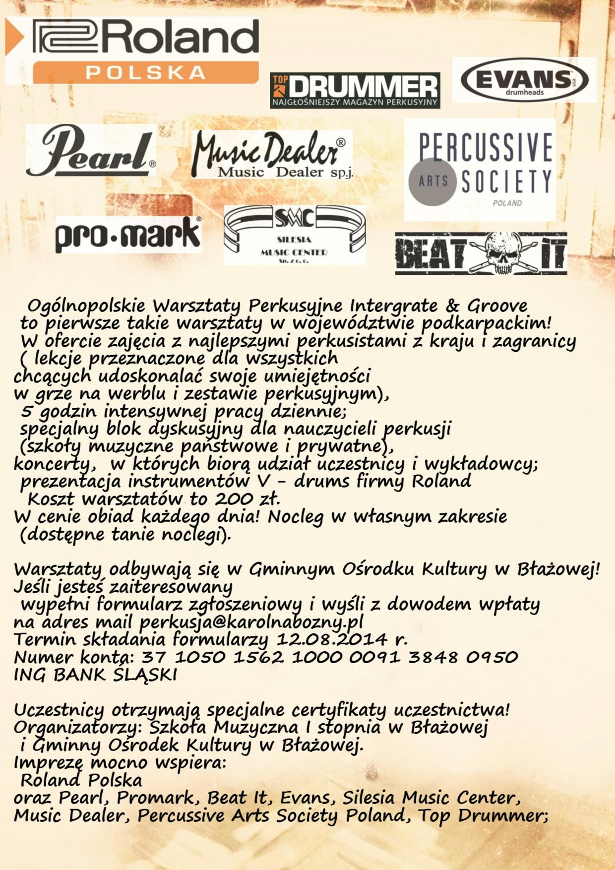 Integate & Groove 2 info