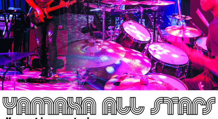 Yamaha Alla Stars plakat Muzyczny_pl